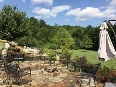 Photo for Meadow Run Falls; Right on the doorstep of Downtown Asheville; HOT TUB & more!