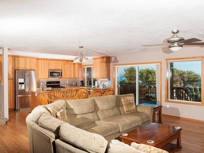Photo for Beautiful Depoe Bay house with pool table & plenty of room for all to enjoy!