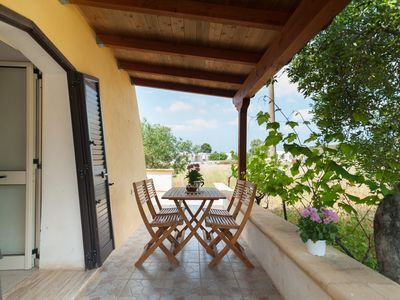 Photo for Typical and independent villa 300 meters from the Maldives of Salento