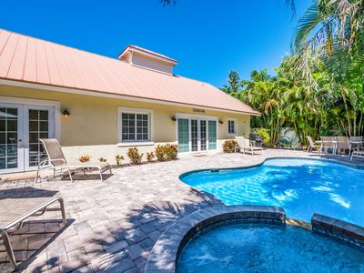 Photo for Beach Bound: Awesome Ground Level Beach House,Heated Pool,Hot Tub, Close 2 Beach