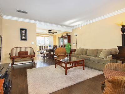 Photo for Private 2 bed 2 bath Fully Furnished Home inc. Utilities Laundry, linens, parkin