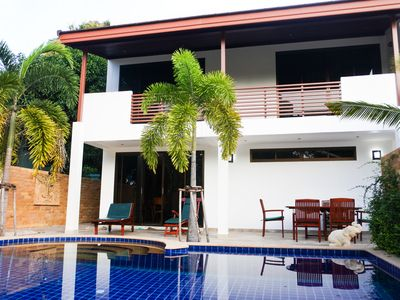Photo for Stunning Villa by the Beach w/ Private Pool
