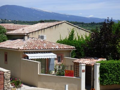 Photo for At the foot of Mont Ventoux, house of the Round.