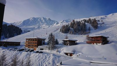 Photo for Stunning panoramic ski apartment, Piste 100M from the building! Great location!