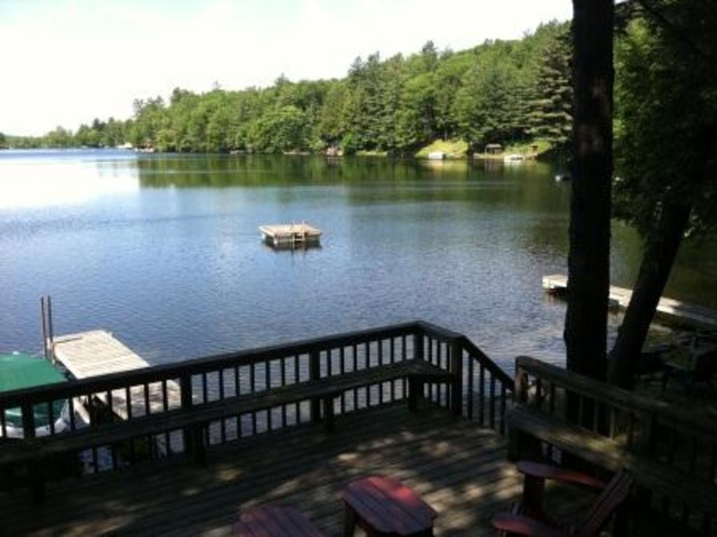 Charming Lakefront Family Home On Coveted HomeAway Caroga Lake