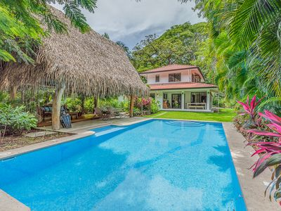 Photo for Private, luxury oasis, walk to Guiones beach