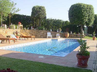 Photo for 8002 - Large country house in a residential area, with garden, pool and