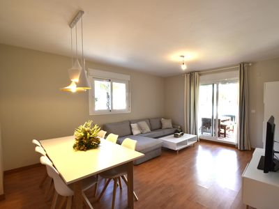 Photo for Modern with large terrace, very close to Puerto Marina