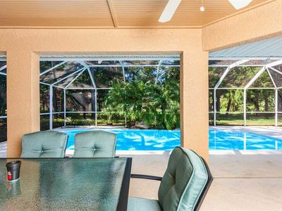 Photo for Wood Haven, 3 Bedrooms, Sleeps 8, WiFi, Private Pool