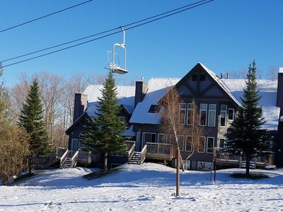 Photo for ***Ski in/out w/ 8 Ski passes inc. each day!***  4 BR Slopeside on Raccoon Run!