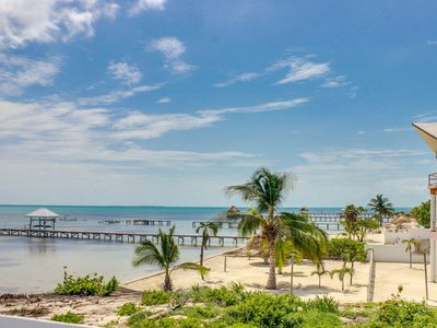 Photo for Oceanfront villa w/ shared pool, beach access, great views!