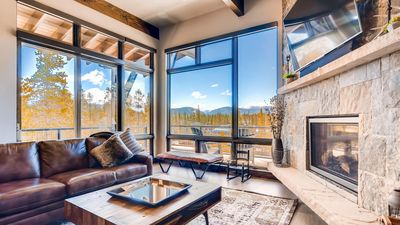 Photo for Stunning views with gondola access to Breck!