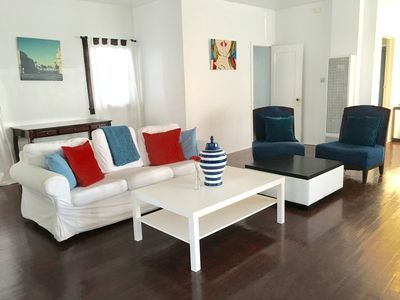 Photo for 3 Bed 2 Bath Private Home 25 Steps from Beach