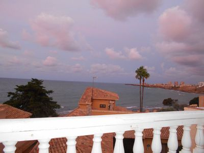 Photo for House by the sea, a terraced house with 3 bedrooms and a magical view of the sea