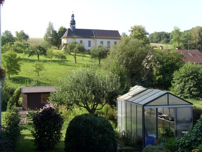 Photo for Quiet apartment with garden and views to the sanctuary