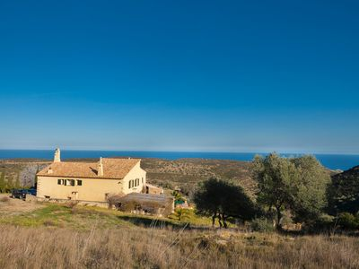 Photo for Secluded villa with 2 bedroom cottage and pool in middle of Natural Park.