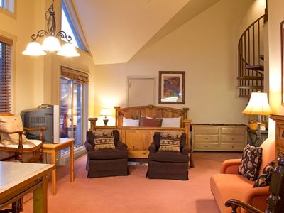 Photo for Ideal Mountain Village Location, Family-Friendly Condo With Kitchenette