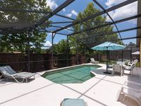 It was a beautifully large family property with lots of space and lovely pool area.