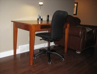 Office Desk Area with High Speed Internet Access!