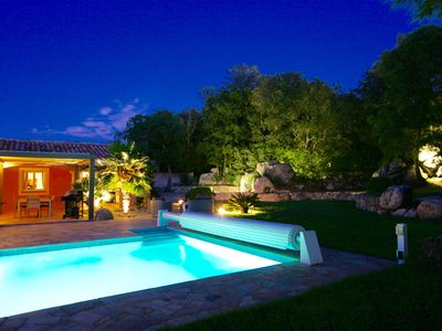 Photo for Villa 10 minutes walk from the town center of Porto Vecchio South Corsica