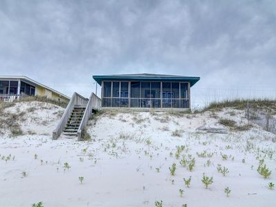 Photo for 4 'n 1: 2 BR / 1 BA oceanfront in Topsail Beach, Sleeps 4