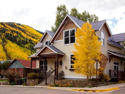 Photo for Sophisticated Style in Unique Downtown Telluride 3-Bedroom Townhome