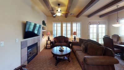 Photo for An Upstairs Two Bedroom Legacy Villa with Custom Furniture above the Pool!