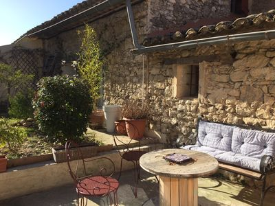 Photo for Cottage Lou Sabaï in Provence, for 3 people, calm and nature on your doorstep ...