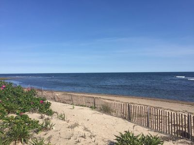Photo for Oceanfront! Fabulous views, Private beach, Modern, WiFi, A/C, HDTV,