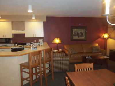 Photo for Family-friendly Condo Located Within The Heart Of Crystal Mountain Resort