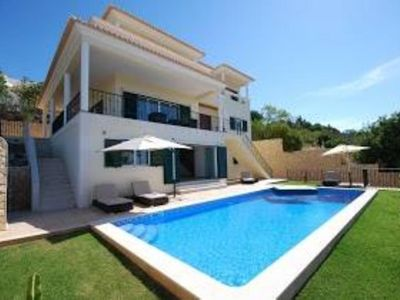 Photo for Luxury villa with 4 bedrooms, sea views and golf, private pool with garden