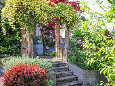 Photo for Perfectly located north-facing Queen Anne home! Gourmet kitchen, fenced backyard