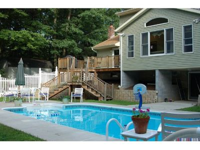 Photo for Fantastic Place to Relax and Enjoy Saratoga with Beautiful Inground Pool