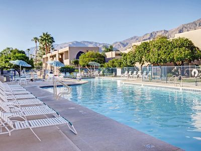 Photo for Palm Springs, CA: 2 BDRM Condo w/FREE WIFI & Pool, Near Waterpark, Golf & More!