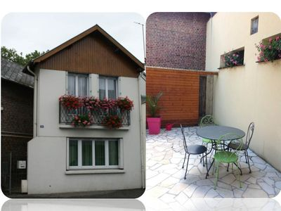 Photo for Charming house with terrace LISIEUX downtown