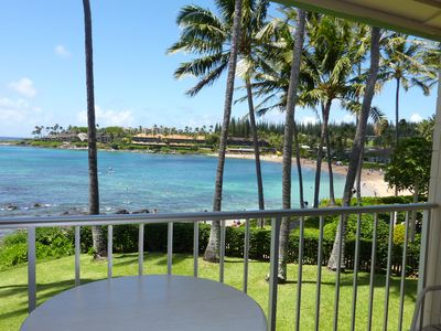 Photo for Napili Shores - A202 - Ocean Front Studio - Relax in Paradise!