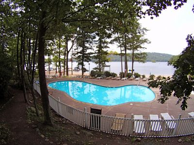 Photo for Spacious family vacation home 8 Lake Passes & Bed Linens Included-In Big Boulder