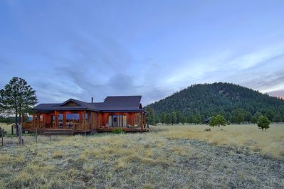 property backs up to the Kaibab National forest and is on 12 acres