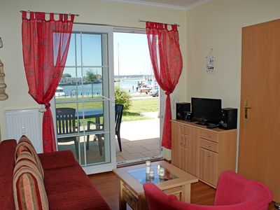 Photo for Apartment No. 40 -. Apartment Hafenidyll 40 with Harbour View