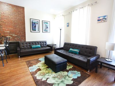 Photo for Apartment in New York with Internet, Air conditioning, Washing machine (255393)