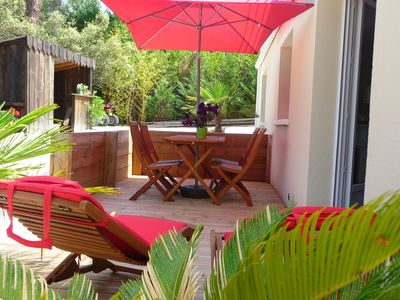 Photo for Cottage new 4 pers, Pyla sur mer moulleau the beach and forest, 5 min center Arcacho