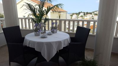 Photo for In the center of Hvar with Internet, Air conditioning, Parking, Terrace (740024)