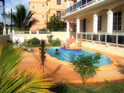 Photo for FITA RESIDENCE - 721 ft², European management, T/Biches 1.3km, sea view, swimming pool, Tourism Authority standards, A/C, Wi-Fi, terrace, SECURITY: CCTV, safe box, alarm