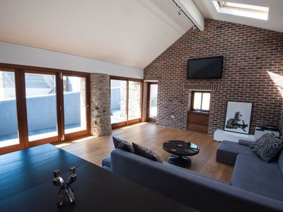 Photo for A Grade II Listed Barn Conversion, 4 Bedroom All Ensuite