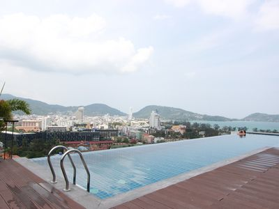 Photo for P2:Oceanview Condo Phuket, Rooftop Pool