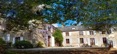 Photo for Elegant Spacious Manor House in Lower Normandy near Mt St Michel sleeps 15