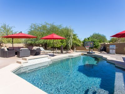 Photo for North Scottsdale Estate Getaway, Perfect location. Private Pool, Firepit, more