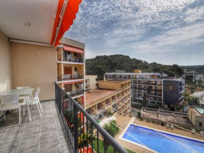 Photo for 295 m from the center of Lloret de Mar with Internet, Pool, Air conditioning, Terrace (756552)
