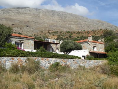 Photo for Charming Stone  Villa - Secluded, Tranquil,  Sea And Mountain View, Sleeps  7