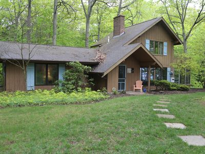 Photo for Almost 300 feet of PRIVATE LAKE MI FRONTAGE !